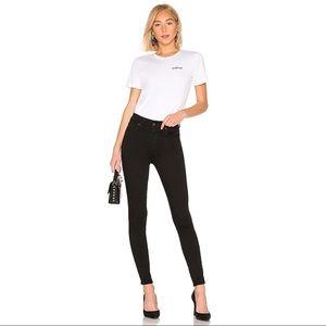 Levi's Mile High Super Skinny Black Jeans - 25